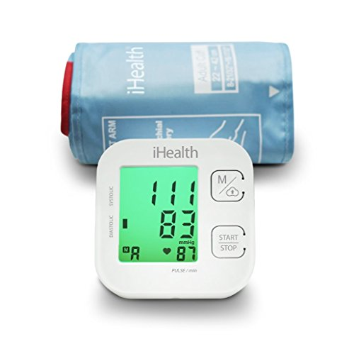 iHealth TRACK Smart Blood Pressure Monitor (KN-550BT) - Connects to both Apple and Android devices