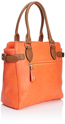 Henleys - Evie, Acquirente da donna Arancione (Orange/Cream/Brown)