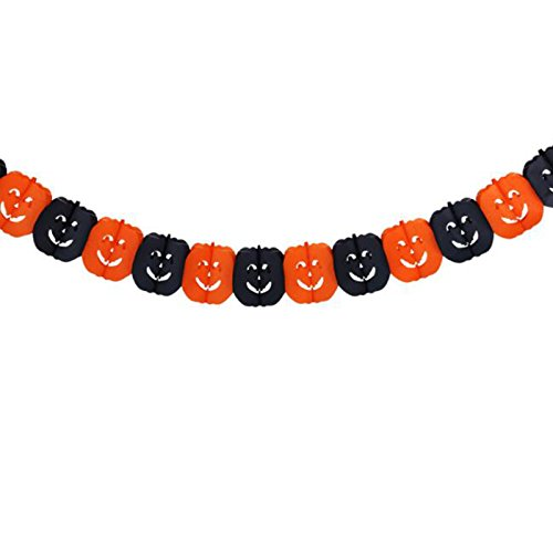Girlande Banner Halloween Party Geist Kürbis Hexe Form hängen Fahne Bunting Dekor Dekoration Requisiten (Clearance Halloween Requisiten)