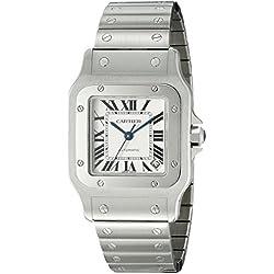 Cartier W20098D6 - Reloj (Reloj de Pulsera, Masculino, Acero, Acero Inoxidable, Acero Inoxidable, Acero Inoxidable)
