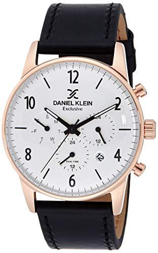 Daniel Klein Analog Silver Dial Men's Watch-DK11832-6