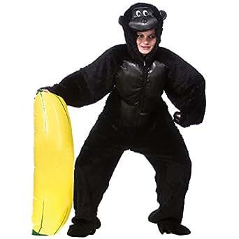 Deguisement Adulte Gorille Taille Unique Animal Costume