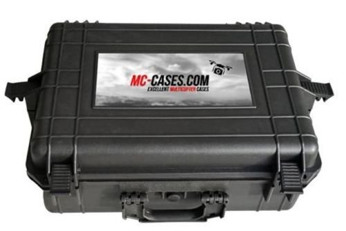 Koffer / Transportkoffer von MC CASES passend für DJI Phantom 2 Vision und Vision Plus vorgefertigt - Ready to use - Platz für 6 Akkus ... - 5