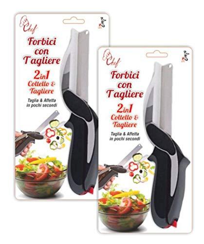 PRATIKO LIFE Tijera fileteadora Cocina Tabla Cortar