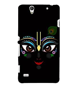 Fuson Designer Back Case Cover for Sony Xperia C4 Dual :: Sony Xperia C4 Dual E5333 E5343 E5363 (Eyes of krishna theme)
