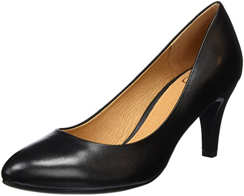 Caprice 22409, Escarpins Femme Noir (Black Nappa 022)