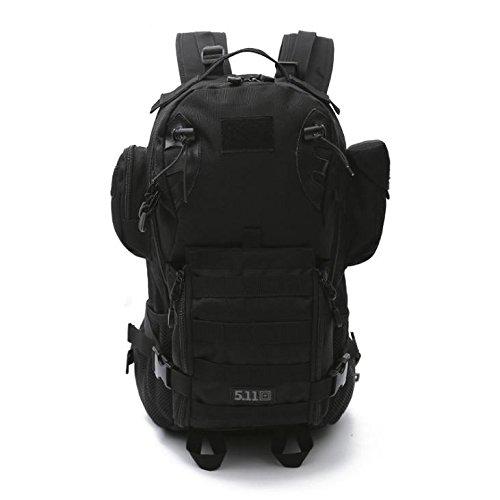 YYY-All'aria aperta camuffamento zaino alpinismo multifunzionale mimetica zaino militare fan computer borsa , 4 5