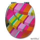 WOLTU #2 Premium WC-Sitz Toilettensitz mit...
