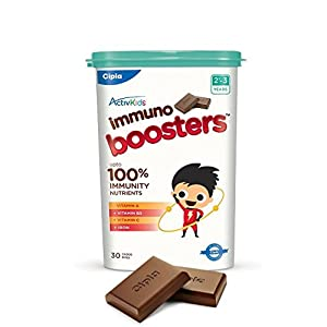 Cipla Immuno Boosters for 2-3 Years – 360g (30 Count)