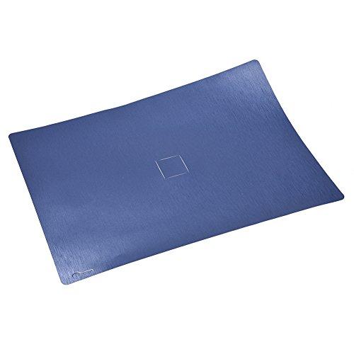 Preisvergleich Produktbild Hohe Qualität Rückseite Folie selbstklebend Körper Aufkleber Protector Haut Metall gebürstet Textur Wrap transparent hinten Movie Flim Cover für Microsoft Surface Buch