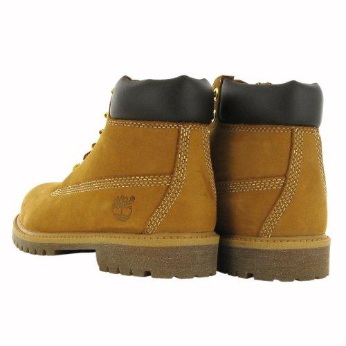 Timberland Infants, Children's and Juniors 6 Inch Premium Wheat Boot Braun (Wheat)