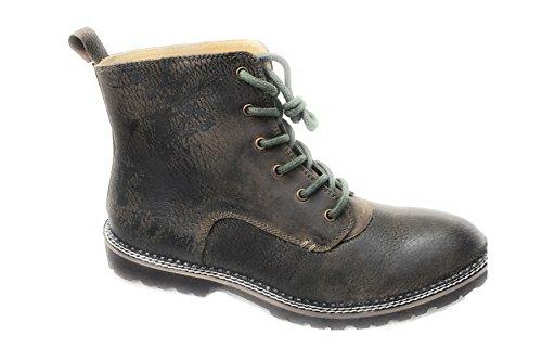 Spieth & Wensky Herren Lennie Boots Trachtenstiefel Braun Gr.44
