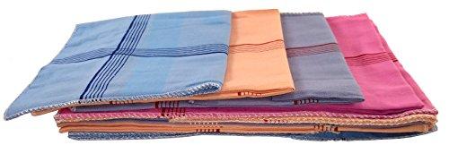 bilAnca ® Pure Soft Premium Quality 100% Cotton Plain Color Hankies Handkerchief from bilAnca™ (12)