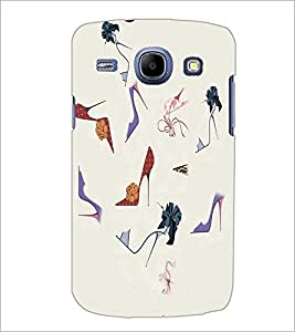 PrintDhaba Sandals D-2643 Back Case Cover for SAMSUNG GALAXY MEGA 5.8 (Multi-Coloured)