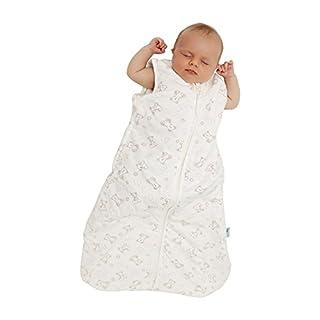 Schlummersack Babyschlafsack Frühjahr/Sommer 1 Tog - Teddy -70cm/0-6 Monate