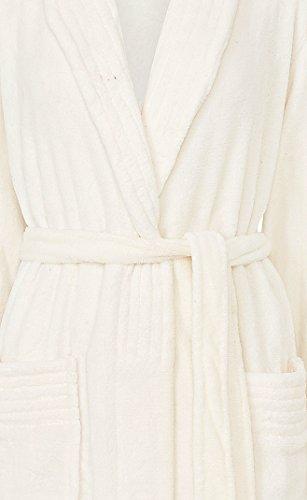 Slenderella - Peignoir - Uni - Manches Longues - Femme XX-Large Crème