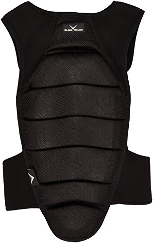Black Crevice Erwachsene Rückenprotektor, Schwarz, XL
