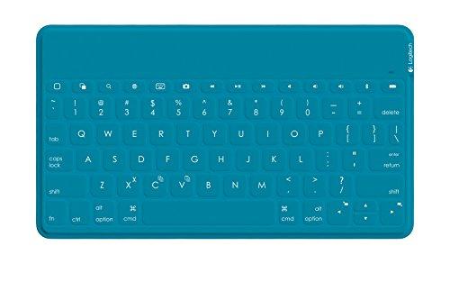 Logitech Keys-To-Go Teclado móvil Alemán Cian Bluetooth