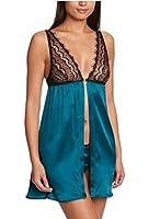 MIMI HOLLIDAY Silk & Lace Nightdress