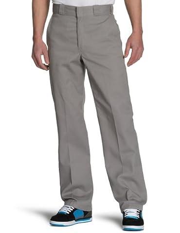 Dickies Herren Sporthose Streetwear Male Pants Original Work, Grau (Silver Gray), 32W / 32L