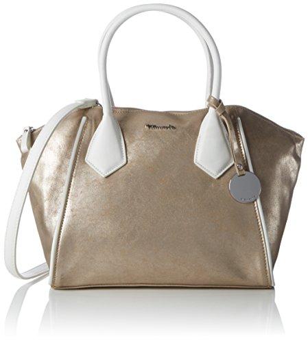 Damen-kontrast-piping (Tamaris Damen Delfina Handbag Handgelenkstasche, Gold (Copper Comb), One Size)