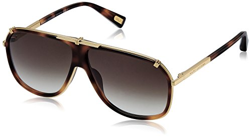 Marc Jacobs Unisex-Erwachsene MJ 305/S JS 001 62 Sonnenbrille, Yellow Gold/Brown Sf,