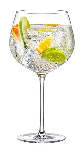 Ella sabatini the perfect gin & tonic mixer copa 780ml   fine di vetro cristallo g & t vetro