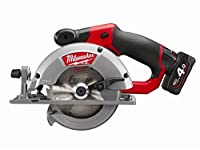 Milwaukee M12CCS44-402C M12 Fuel 44MM Circular Saw (2 x 4.0ah batteries, charger, BMC)