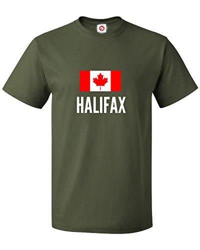 t-shirt-halifax-city-verde