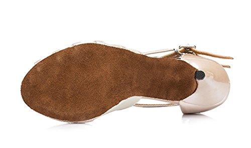 TDA - Peep-Toe donna 8.5cm Heel Beige