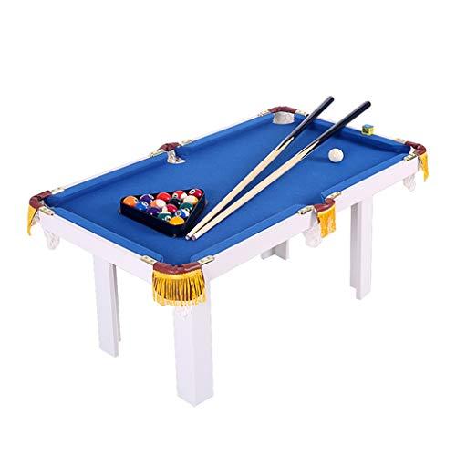 Tavoli da biliardo Biliardo Tavolo Da Gioco Per Bambini Pieghevole Americano Biliardo Tavolo Da Biliardo Per Bambini Giocattoli Da Gioco Piccolo Biliardo In Legno ( Color : Blue , Size : 91*43*54cm )