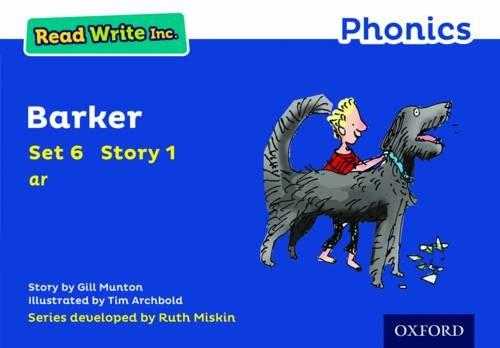 Read Write Inc. Phonics: Blue Set 6 Storybook 1 Barker