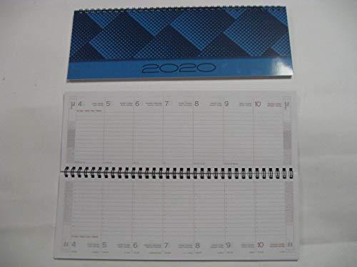 Notabene - Agenda Settimanale, Planning da tavolo 2020 - 29,8 x 10,7 cm