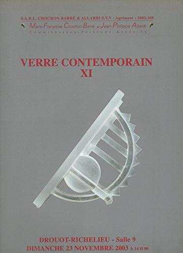 Verre contemporain : Vente, Paris, Drouot-Richelieu, salle 9, 23 novembre 2003