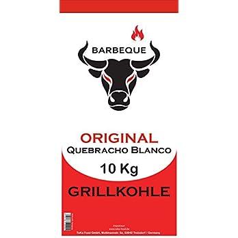 Teka Food Gmbh Quebracho Blanco Grillkohle Holzkohle 10 Kg