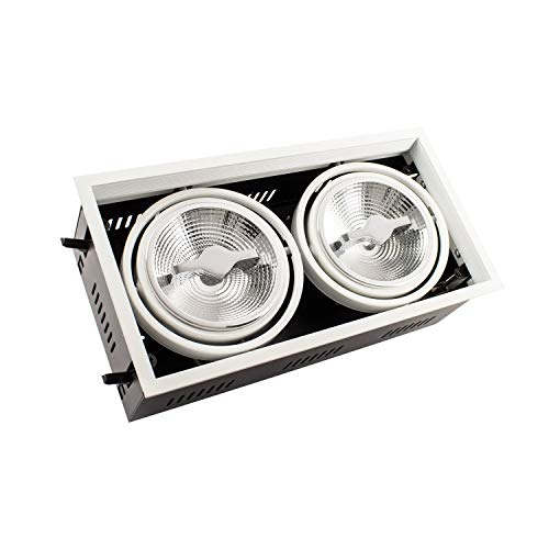 Foco LED CREE-COB Direccionable AR111 30W Regulable Blanco Neutro 4000K efectoLED
