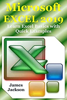 Microsoft EXCEL 2019: Learn Excel Basics with Quick Examples by [Jackson, James]