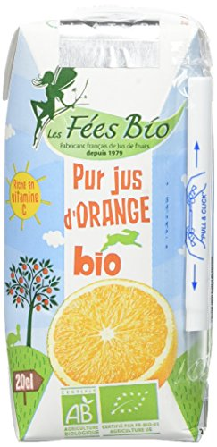 Les Fées Bio Pur Jus d'Orange Bi...