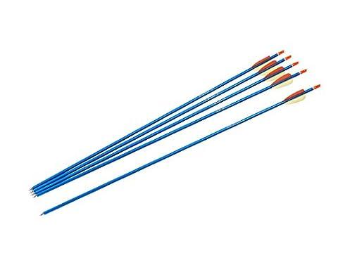 Armex U.K. Sportbogen Aluminiumpfeile 76 cm Blau 5 Stück, 2.2259 (Hunter Bow)