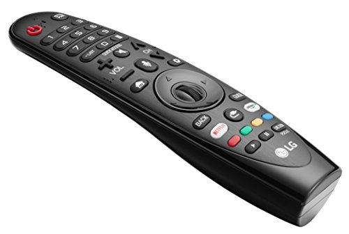 LG AN-MR18BA Magic 2018 Models LG TV Remote Control for Select 2018 LG Ai ThinQ Smart TV OLED: W8, E8, C8, B8 Super UHD SK9500 SK9000, SK8070, SK8000 UHD 4 K UK7700, UK6570