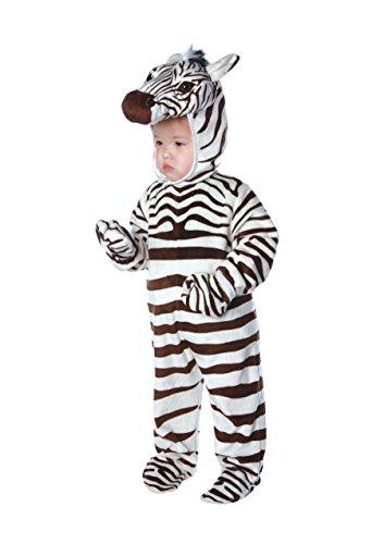 Underwraps Costumes - Zebra Babykostüm - Größe: 62-74cm