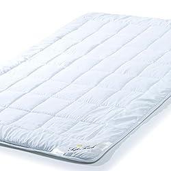 Ganzjahres Bettdecke 135x200 cm Steppdecke atmungsaktiv, Decke Winter Sommer aqua-textil Soft Touch 0010569