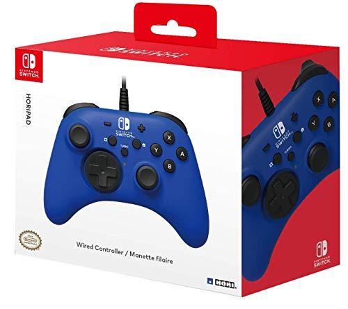 HORI - Horipad azul Nintendo Switch