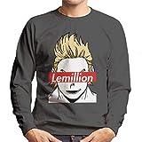 Cloud City 7 Lemillion Skate Brand My Hero Academia Men's Sweatshirt