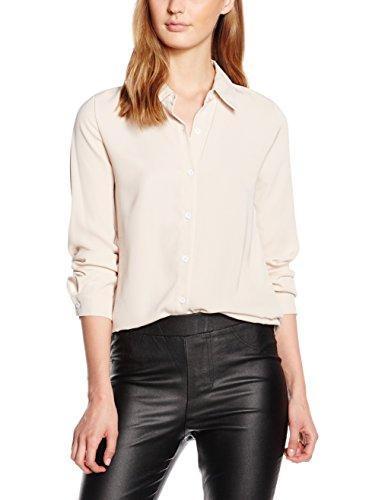 Molly Bracken E675A16, Blusa para Mujer, Rosa (Nude), (Talla del Fabricante: S)