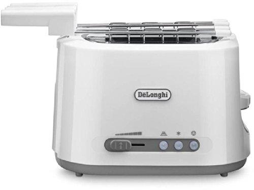 De longhi toaster 550w 2pinze c / warm croissants weiß