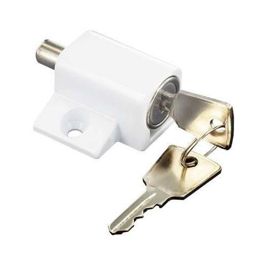 bulk-hardware-bh01814-patio-sliding-door-lock-and-key-matt-white