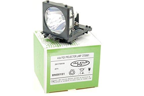 Alda PQ Beamerlampe DT00665, DT00661 für HITACHI PJ-TX100W, PJ-TX100, HD-PJ52, PJ-TX300, PJ-TX200 Projektoren, Lampenmodul mit Gehäuse