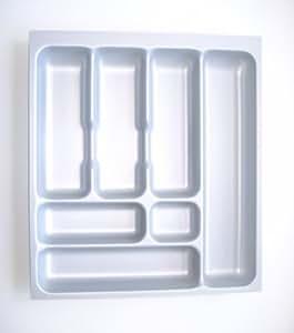 Naber nobilia 50 cassetto porta posate con 7 scompartimenti 409x462 mm casa e cucina - Porta posate da cassetto ...