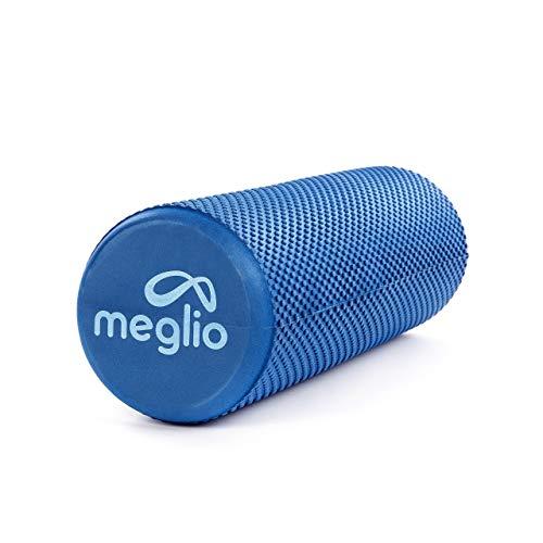 meglio Pilates Rolle 45cm / 90cm – Schaumstoffrolle | Faszienrolle | Yoga Rolle für Selbstmassagen – perfekt geeignet für Fitness, Yoga, Pilates – mit Übungs-Guide